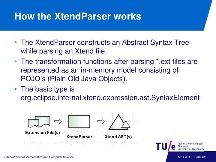 How the XtendParser works