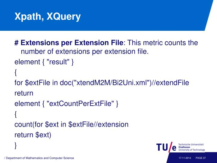 Xpath, XQuery