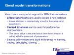 xtend model transformations1