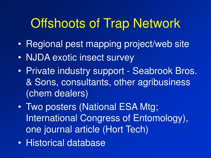 Offshoots of Trap Network