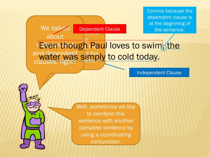 Comma because the dependent clause is at the beginning of the sentence.