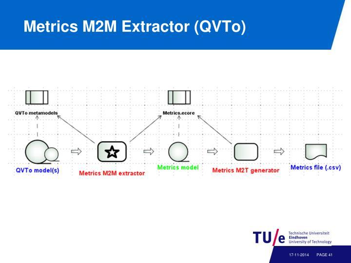 Metrics M2M Extractor (