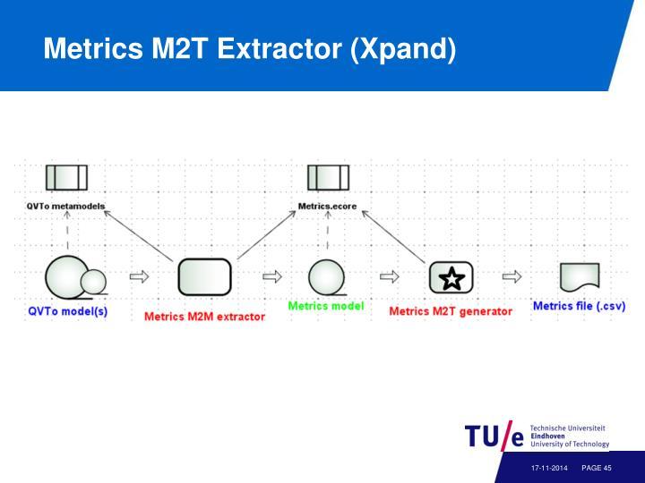 Metrics M2T Extractor (