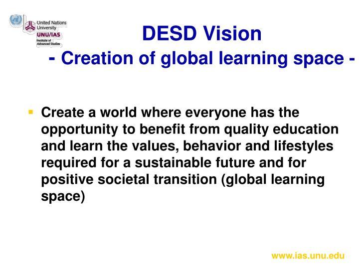 DESD Vision