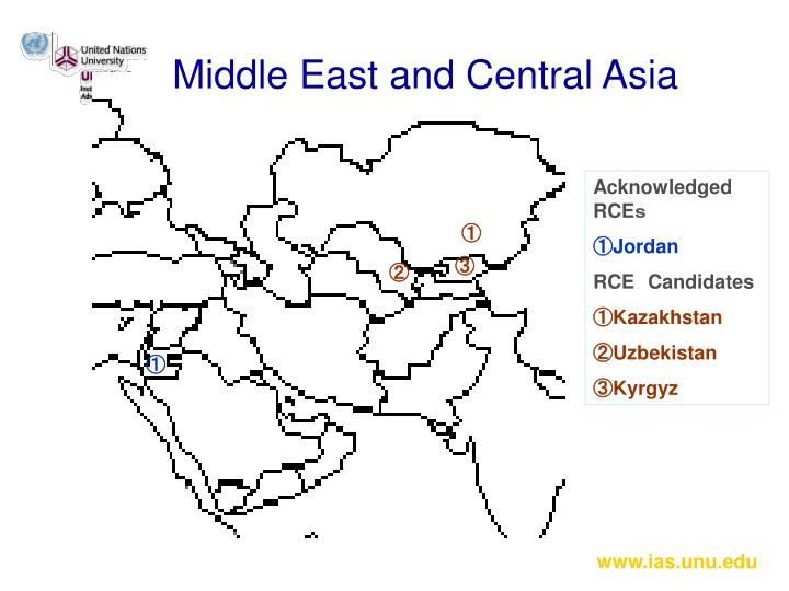 Middle East and Central Asia