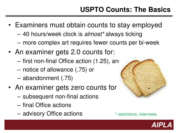 USPTO Counts: The Basics