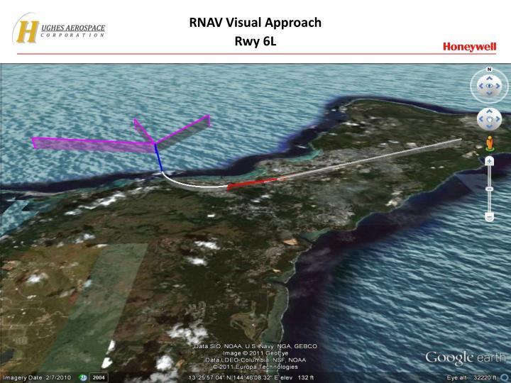 RNAV Visual Approach