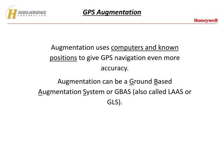 GPS Augmentation