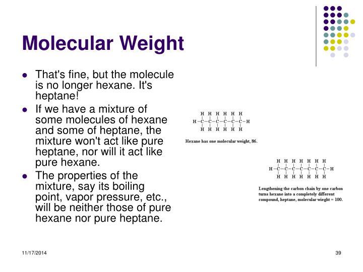 Molecular Weight