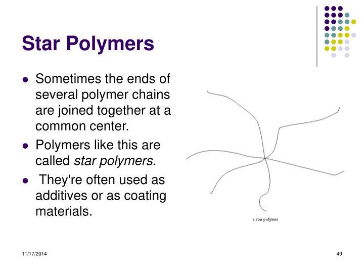 Star Polymers
