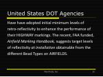 united states dot agencies