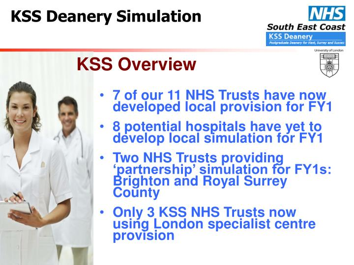 7 of our 11 NHS Trusts have now developed local provision for FY1