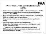 aviation safety action program asap