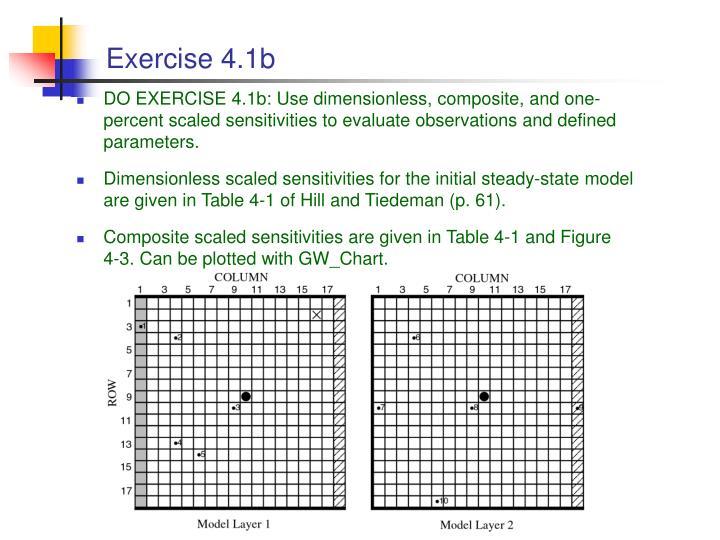 Exercise 4.1b