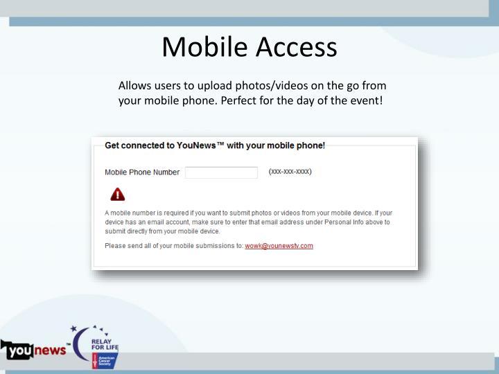 Mobile Access