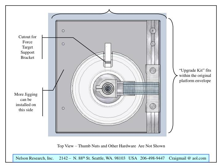 Cutout for Force Target Support Bracket