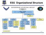 esg organizational structure