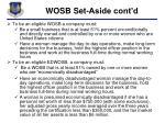 wosb set aside cont d