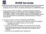 wosb set aside