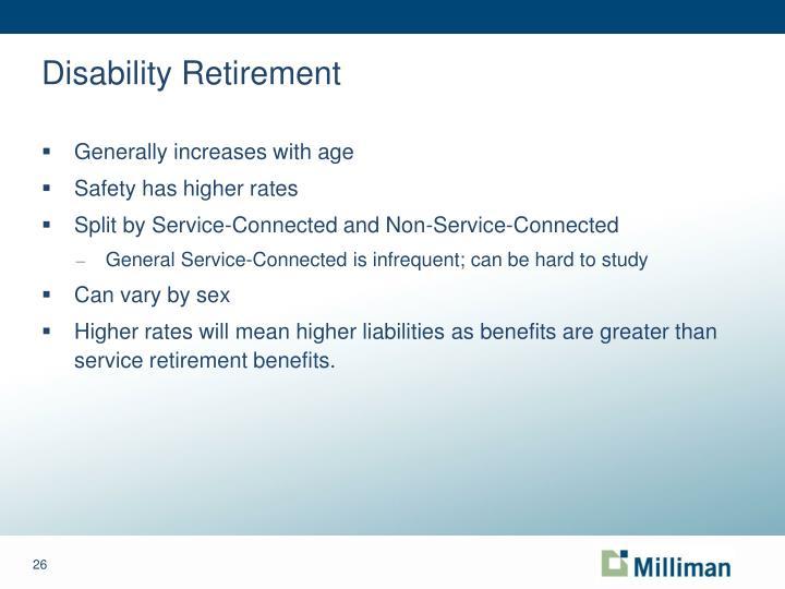 Disability Retirement