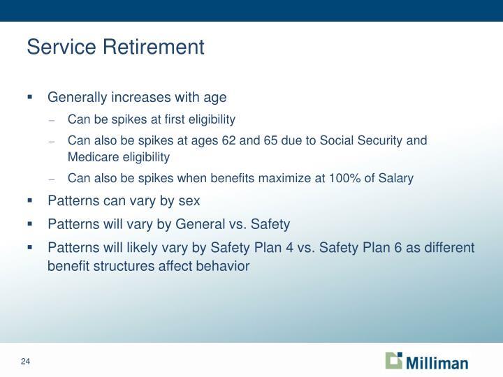 Service Retirement