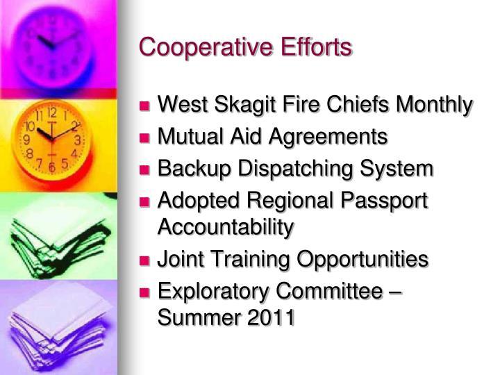 Cooperative Efforts
