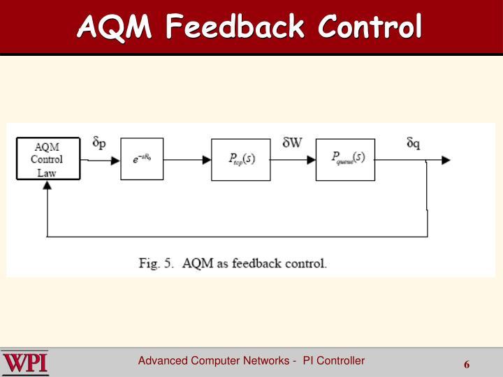 AQM Feedback Control