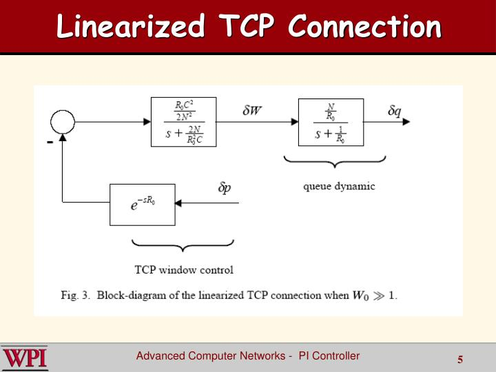 Linearized TCP Connection