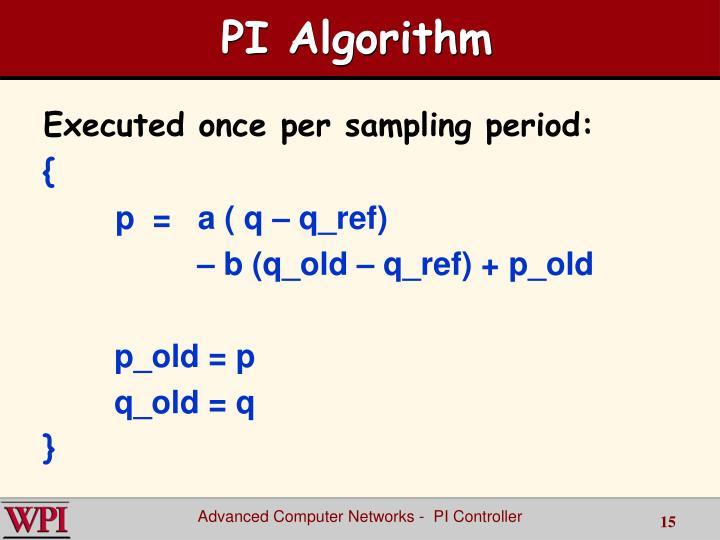 PI Algorithm