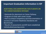 important graduation information in iep1
