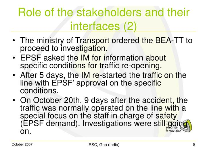 The ministry of Transport ordered the BEA-TT to proceed to investigation.