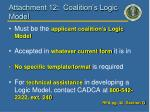 attachment 12 coalition s logic model