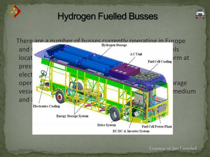 Hydrogen Fuelled Busses