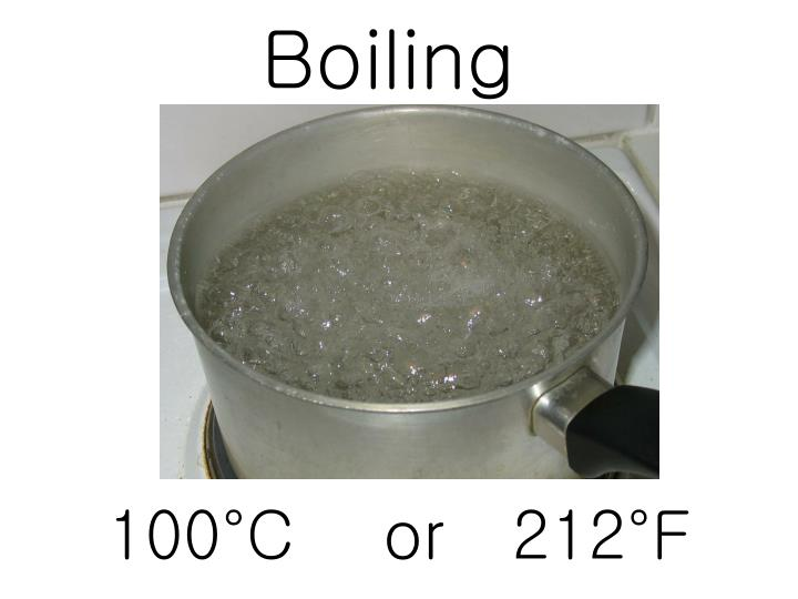 Boiling