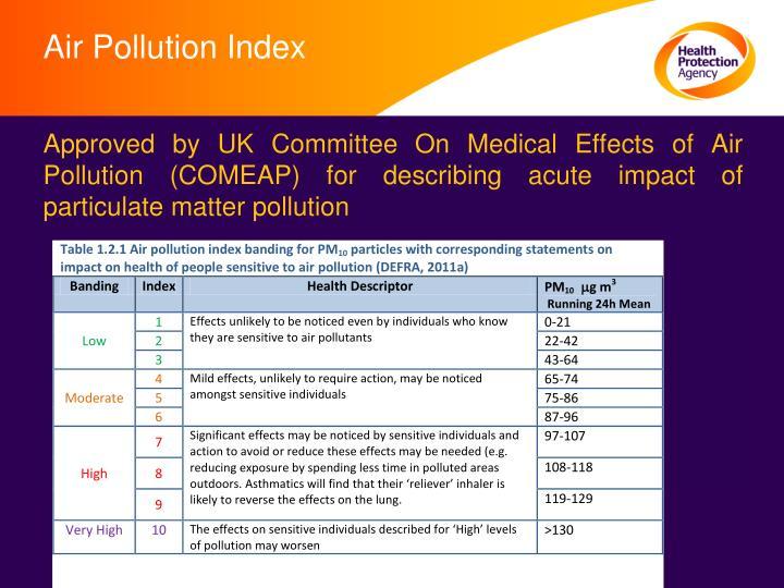 Air Pollution Index