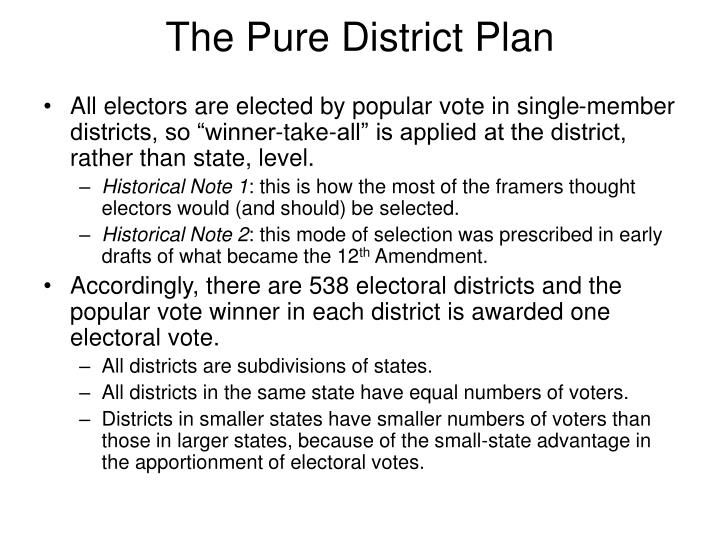 The Pure District Plan