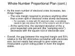 whole number proportional plan cont3