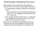 whole number proportional plan cont4