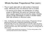 whole number proportional plan cont5