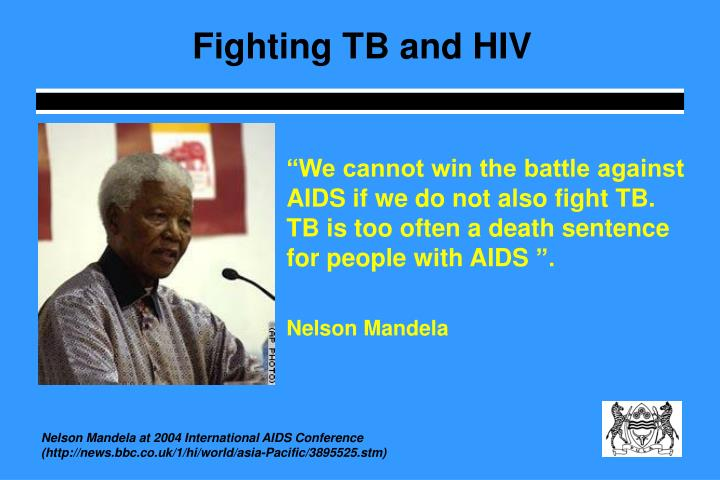 Fighting TB and HIV
