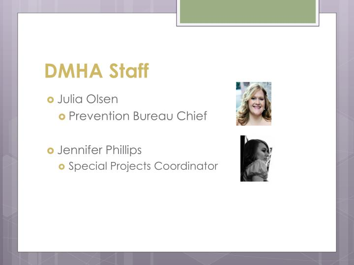 DMHA Staff