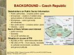background czech republic