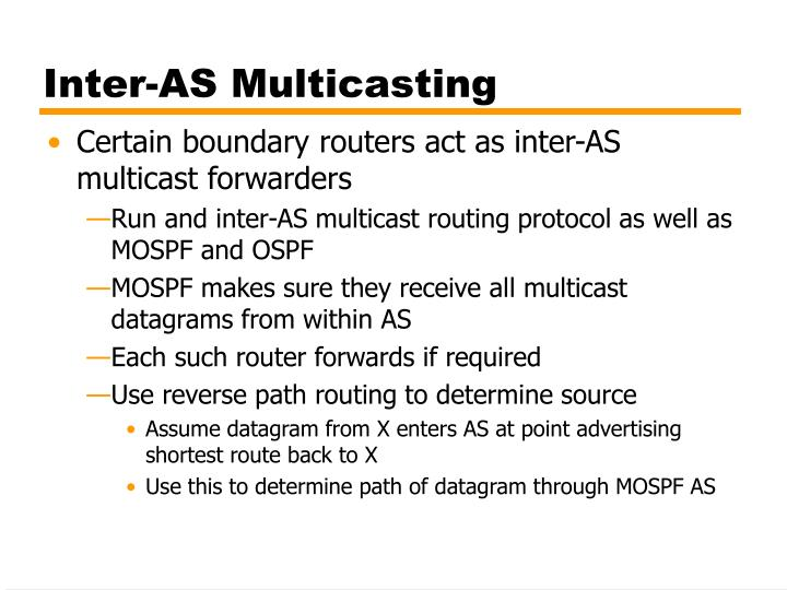 Inter-AS Multicasting