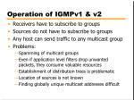 operation of igmpv1 v2