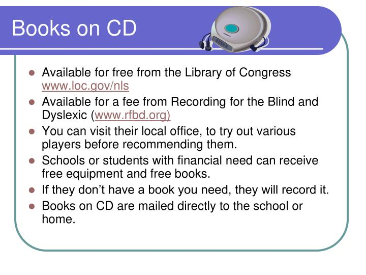 Books on CD