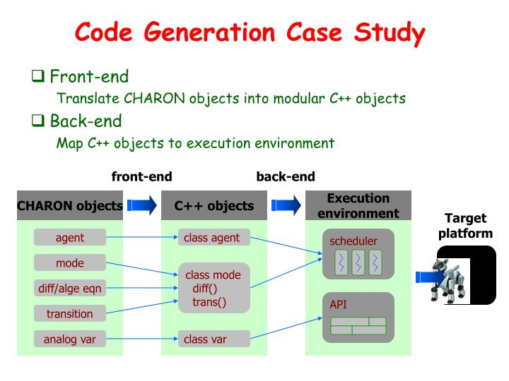 Code Generation Case Study