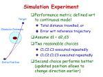 simulation experiment1