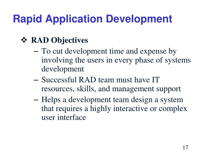 Rapid Application Development