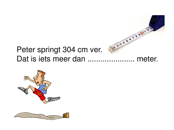 Peter springt 304 cm ver.