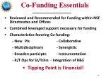co funding essentials